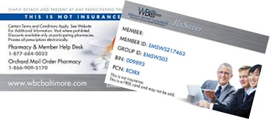 WBC RxSaver Card